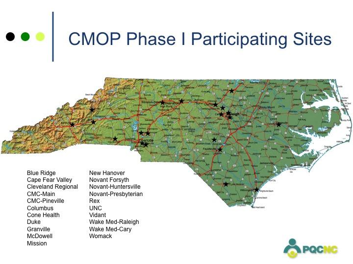 CMOP Map