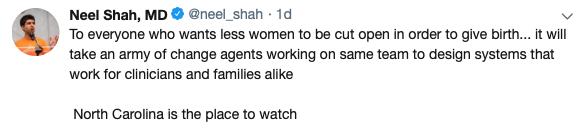 Neel Shah Tweet